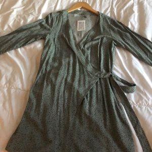 H&M mint wrap dress never worn